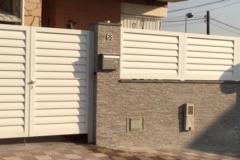 Puertas y vallas aluminio soldado modelo Avon150mm