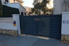 Puerta corredera lama Z Miami playa