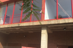 Proceso de instalacion de fijos de aluminio.