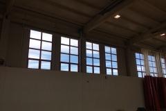 Interior de polideportivo mont rog