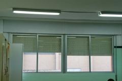 Correderas RPT colegio hospitalet de l`infant. Fachada. Antes