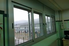 Correderas RPT colegio hospitalet de l`infant. Fachada.1
