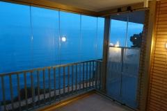 Cortina de cristal- vistal interior-miami playa