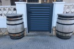 Puerta practicable lama Z miami playa casa Xavi