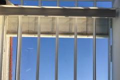 Techo de aluminio y vidrio 1.