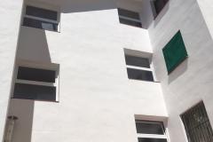 Ventanas compuesta fijo inferior abatible superior.Edificio Miami Playa Fachada Sur