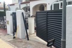 Puerta aluminio soldado lama Z Pino Alto Tarragona