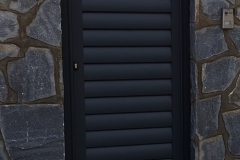 Puerta corredera aluminio soldado lama Avion150